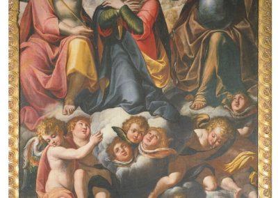 Madonna di Gallivaggio - 1606 - Paolo Camillo Landriani detto il Duchino olio su tela - Incoronazione di Maria