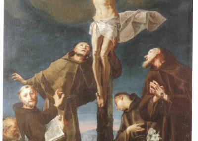 Madonna di Gallivaggio - 1739 - Crocefissione di Cesare Ligari